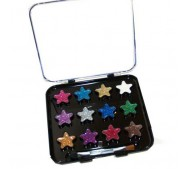 Beauty Treats Stars & Hearts Glitter Palette