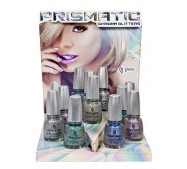 China Glaze Nail Polish, PRISMATIC 3D HOLOGRAPHIC, COLLECTION