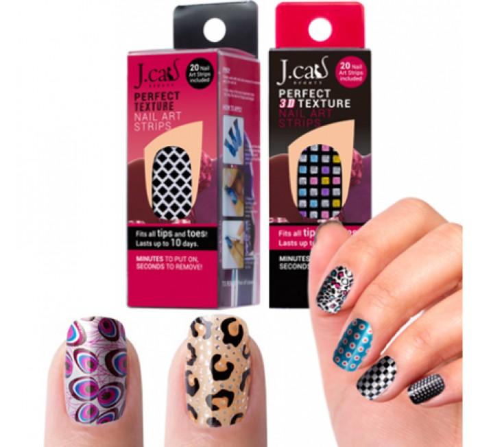 Jt Beauty Perfect Texture Nail Art Strips