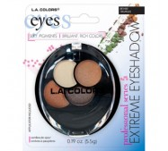 LA Colors EXTREME 4 color Eyeshadow - Carded