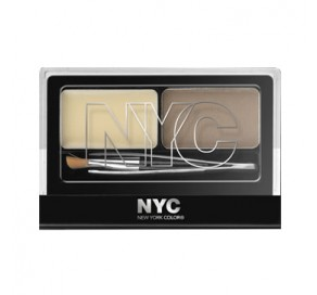 NYC New York Color Browser Brush-on Brow Kit