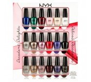 NYX Cosmetics DECADENT DELIGHTS NAIL ART COLLECTION
