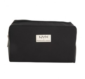 NYX Cosmetics BLACK MEDIUM RECTANGULAR ZIPPER MAKEUP BAG