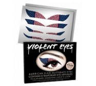 Violent Eyes - American Flag Glitteratti