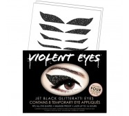 Violent Eyes - Jet Black Glitteratti